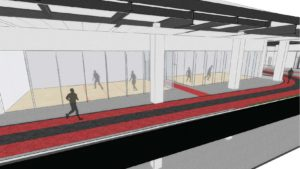 Level 2 Mezzanine - Track and Racquetball Courts
