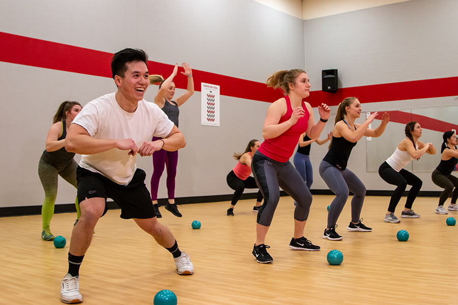 An image participants at a group fitness tabata class