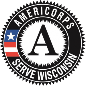 An image of the AmeriCorps Serve Wisconsin logo