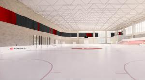 Virtual rendering of the new Natatorium Ice Rink